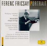 MOZART - Fricsay - Requiem pour solistes, chœur et orchestre en ré mineu