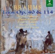 BRAHMS - Dalberto - Trio pour piano, violon et cor en mi bémol majeur op
