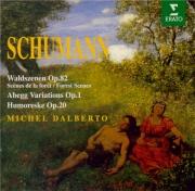 SCHUMANN - Dalberto - Variations sur le nom 'Abegg', pour piano en fa ma