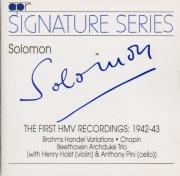 The first HMV recordings 1942-43