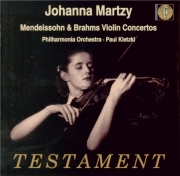 MENDELSSOHN-BARTHOLDY - Martzy - Concerto pour violon et orchestre en mi