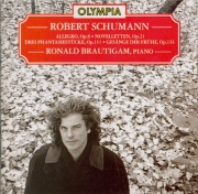 SCHUMANN - Brautigam - Noveletten (Huit novelettes), pour piano op.21
