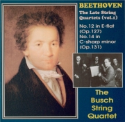 The late string quartets vol.1