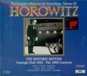 The Historic Return, Carnegie Hall Concerts Vol.3