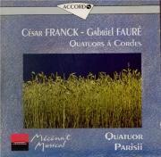FRANCK - Quatuor Parisii - Quatuor à cordes en ré majeur FWV.9