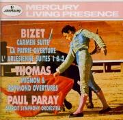 BIZET - Paray - L'arlésienne, suite pour orchestre n°1 WD.40