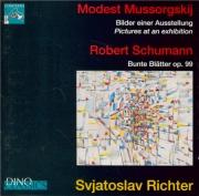MOUSSORGSKY - Richter - Tableaux d'une exposition, pour piano live Napoli 10 - 02 - 1969