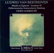 BEETHOVEN - Albrecht - Egmont, musique de scène pour orchestre op.84
