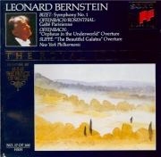BIZET - Bernstein - Symphonie pour orchestre en ut majeur (1855) WD.33