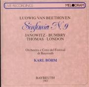 BEETHOVEN - Böhm - Symphonie n°9 op.125 'Ode à la joie' live Bayreuth 23 - 7 - 1963
