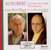 SCHUBERT - Van Dam - Schwanengesang (Le chant du cygne), cycle de mélodi