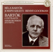 BARTOK - Bartok - Contrastes, pour violon, clarinette et piano Sz.111 BB