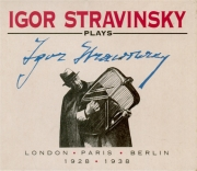 Stravinsky plays Stravinsky 1928 / 1938 (London - Paris... )