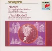 MOZART - Archibudelli - Marche pour orchestre en ré majeur K.445 (K6.320