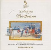 BEETHOVEN - Brendel - Sept variations pour piano sur un quatuor de Winte