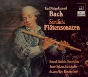 BACH - Hünteler - Sonates pour flûte traversière Wq.123-134 (12)