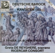 Deutsche Barock Kantaten Vol.3