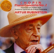 CHOPIN - Rubinstein - Concerto pour piano et orchestre n°2 en fa mineur