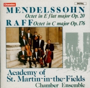 MENDELSSOHN-BARTHOLDY - Academy of St M - Octuor pour cordes en mi bémol
