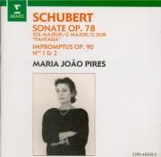 SCHUBERT - Pires - Sonate pour piano en sol majeur op.78 D.894 'Fantasie