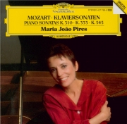 MOZART - Pires - Sonate pour piano n°8 en la mineur K.310 (K6.300d)