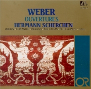 WEBER - Scherchen - Euryanthe : ouverture