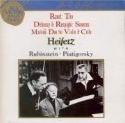 DEBUSSY - Heifetz - Sonate pour violon et piano en sol mineur L.140