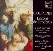 COUPERIN - Jacobs - Trois leçons de ténèbres pour le mercredi saint