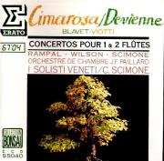 DEVIENNE - Rampal - Symphonie concertante pour deux flûtes op.76