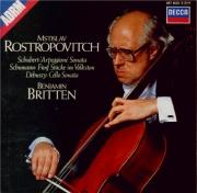 SCHUBERT - Rostropovich - Sonate pour piano et arpeggione (ou violoncell
