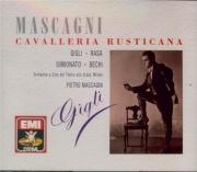 MASCAGNI - Mascagni - Cavalleria rusticana (+ airs chantés par Gigli) + airs chantés par Gigli