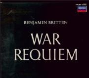 BRITTEN - Britten - War requiem, pour solistes, ensemble de chambre, choe