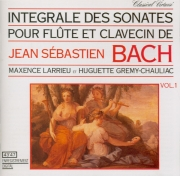 Intégrale des sonates pour flûte et clavecin / vol.1