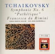 TCHAIKOVSKY - Giulini - Symphonie n°6 en si mineur op.74 'Pathétique'