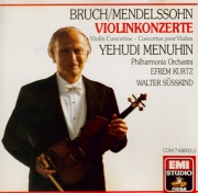 MENDELSSOHN-BARTHOLDY - Menuhin - Concerto pour violon et orchestre en m