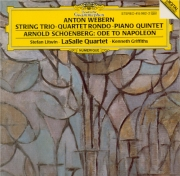 WEBERN - LaSalle Quartet - Trio à cordes op.20