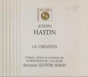 HAYDN - Wand - Die Schöpfung (La création), oratorio pour solistes, chœu