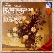 BACH - Pinnock - Concerto brandebourgeois n°1 pour orchestre en fa majeu