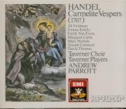 HAENDEL - Parrott - Vêpres des Carmélites (aussi 'The Roman Vespers of 1