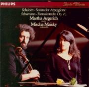 SCHUBERT - Argerich - Sonate pour piano et arpeggione (ou violoncelle) e