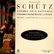 SCHÜTZ - Laplénie - Weihnachtshistorie (Oratorio de Noël). Die Geburt un