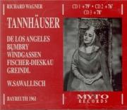 WAGNER - Sawallisch - Tannhäuser WWV.70 (Live, Bayreuth 1961) Live, Bayreuth 1961