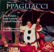 LEONCAVALLO - Bartoletti - Pagliacci (I ) (Paillasse) live Buenos Aires 1968