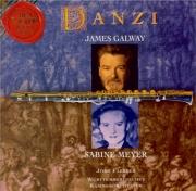 DANZI - Galway - Symphonie concertante pour flûte et clarinette op.41