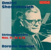 CHOSTAKOVITCH - Borodin Quartet - Quatuor à cordes n°11 op.122