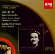 MAHLER - Ferrier - Kindertotenlieder (Chants pour des enfants morts), cy