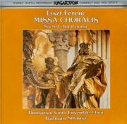 LISZT - Strausz - Missa choralis, pour choeur et orgue S.10