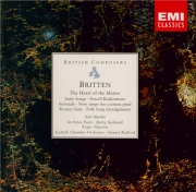BRITTEN - Bedford - Three songs from 'The heart of the matter' (Sitwell)