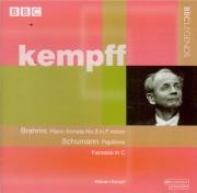 BRAHMS - Kempff - Sonate pour piano n°3 en fa mineur op.5