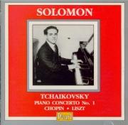 TCHAIKOVSKY - Solomon - Concerto pour piano n°1 en si bémol mineur op.23